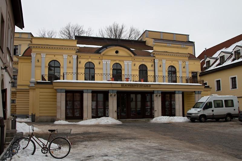 Klicperovo divadlo Hradec Králové - Labutí jezero
