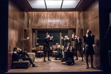 Divadlo Na zábradlí - Hamleti
