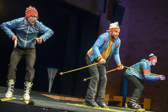 Divadlo F. X. Šaldy - SIALská trojčata (foto: Roman Dobeš)