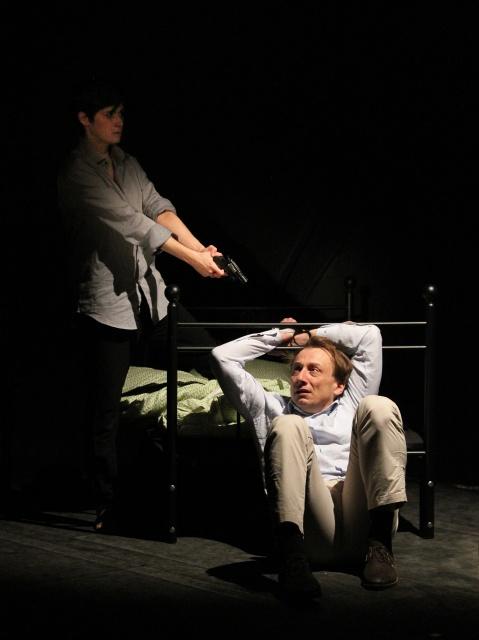 Divadlo Ungelt - Smrt adívka (foto: Marie Krbová)
