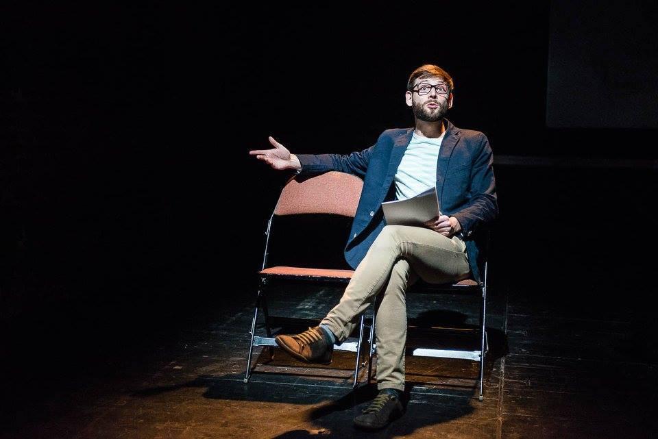 ze scénického čtení MARATON (foto: Alexandr Hudeček)