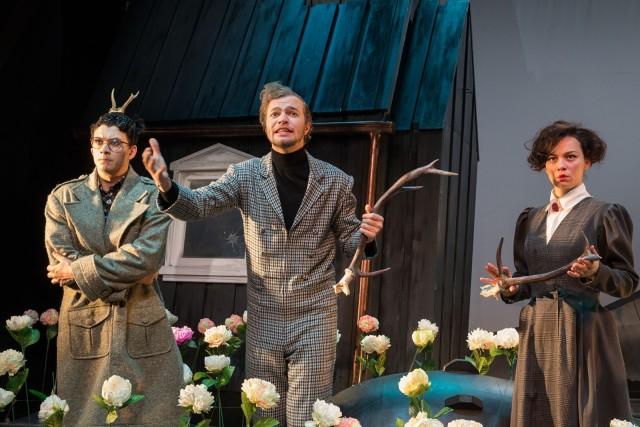 Jihočeské divadlo - Letní vosy nás štípou už i v listopadu (foto: Petr Zikmund)