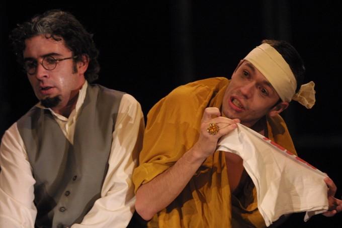 z inscenace Bratři Karamazovi (foto: archiv Slováckého divadla)