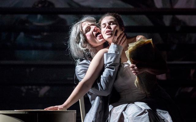 Národní divadlo Brno - Pera Markýze de Sade, režie Martin Glaser, prem. 11. 10. 2019 (foto: Patrik Borecký)