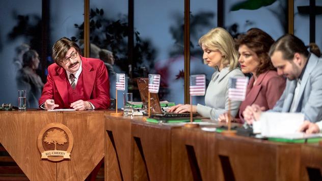 Národní divadlo Brno - Protokol, režie Martin Glaser, prem. 14. 2. 2020 (foto: Patrik Borecký)