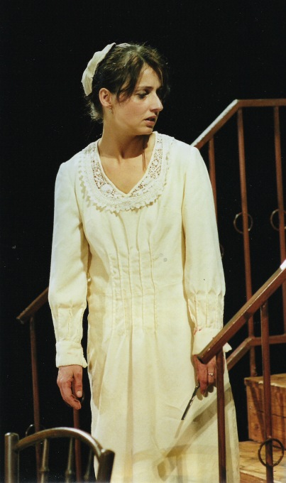Středočeské divadlo Kladno - Slečna Julie, 2006 (foto: osobní archiv Lenky Zbrankové)
