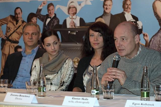 Bronislav Kotiš, Radka Coufalová, Zuzana Benešová, Gustav Skála