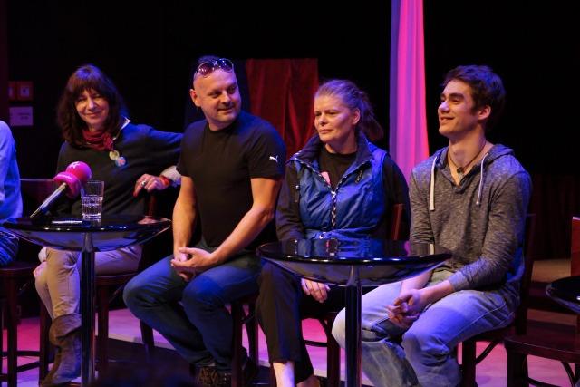 Michaela Pavlátová, Peter Serge Butko, Zuzana Bydžovská, Patrik Děrgel (foto: Michal Novák)
