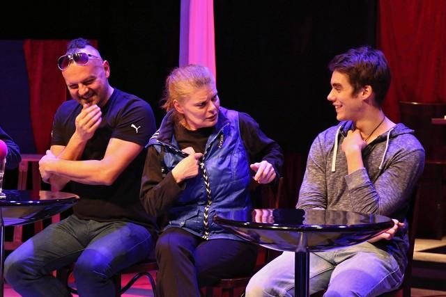 Peter Serge Butko, Zuzana Bydžovská, Patrik Děrgel (foto: Michal Novák)