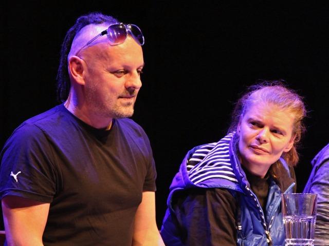 Peter Serge Butko, Zuzana Bydžovská (foto: Michal Novák)