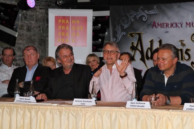 Daniel Dvořák, Adam Novák, Antonín Procházka, Egon Kulhánek (foto: Michal Novák)