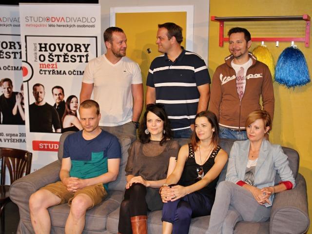 Filip Blažek, Roman Štabrňák, Michal Slaný, Kryštof Hádek, Jana Stryková, Marika Šoposká, Jitka Schneiderová (foto: Michal Novák)