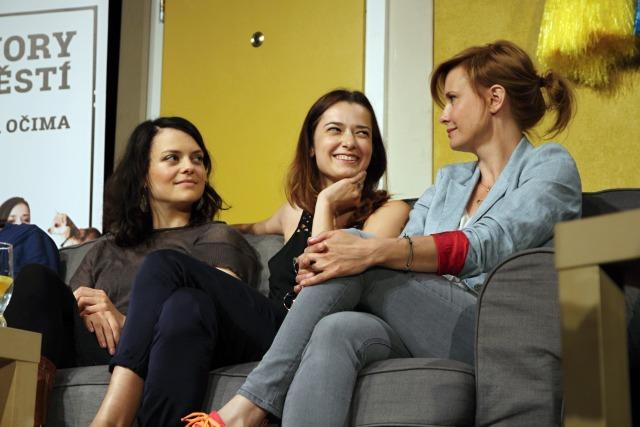 Jana Stryková, Marika Šoposká, Jitka Schneiderová (foto: Michal Novák)