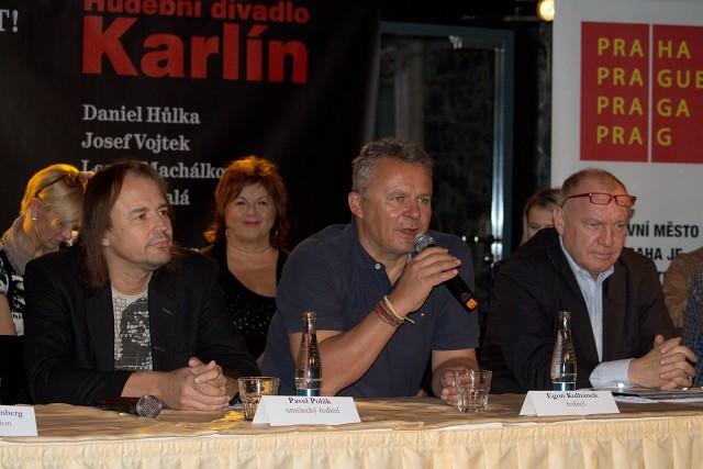 Pavel Polák, Egon Kulhánek, Daniel Dvořák (foto: Michal Novák)