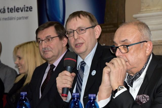 hovoří Jiří Hromada, prezident Herecké asociace (foto: Michal Novák)