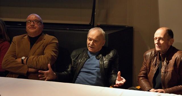 Vladimír Procházka, Ladislav Smoček, Michal Pavlata (foto: Michal Novák)