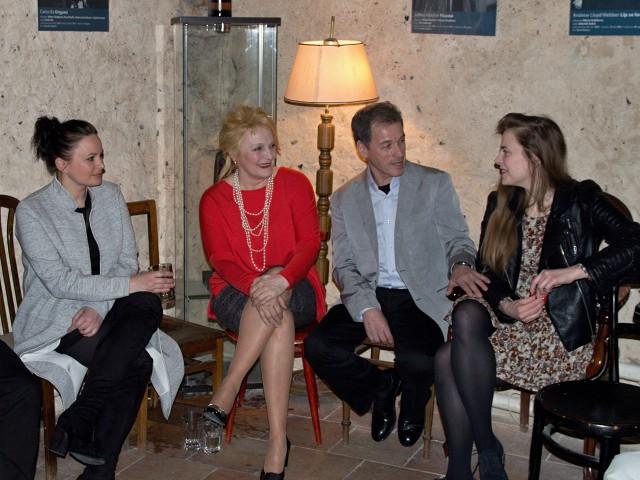 Jitka Čvančarová, Regina Rázlová, Milan Hein, Petra Nesvačilová (foto: Michal Novák)