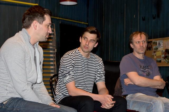 Ondřej Sokol, Václav Šanda, Martin Finger (foto: Michal Novák)