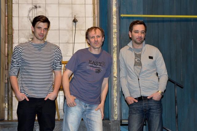 Václav Šanda, Martin Finger, Ondřej Sokol (foto: Michal Novák)