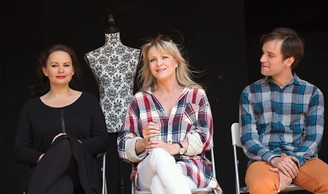 Jitka Čvančarová, Chantal Poullain, Ondřej Novák (foto: Michal Novák)