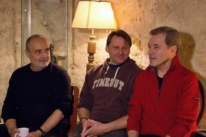 Petr Slavík, Radek Holub, Milan Hein (foto: Michal Novák)