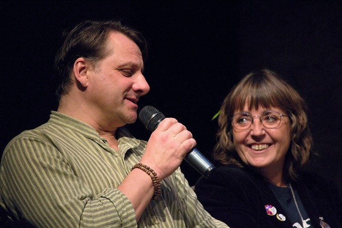 Radek Holub, Barbora Hrzánová (foto: Michal Novák)