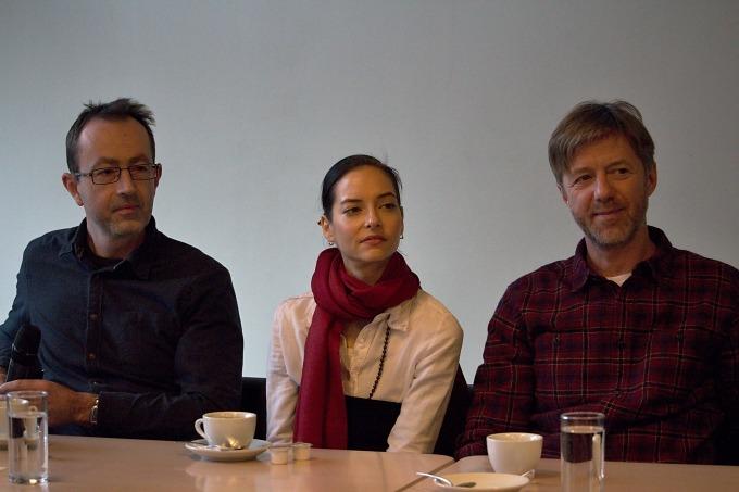 Petr Zelenka, Klára Lidová, Jiří Langmajer (foto: Michal Novák)