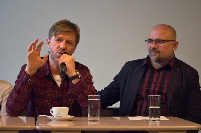 Jiří Langmajer a ředitel DpP Michal Lang (foto: Michal Novák)