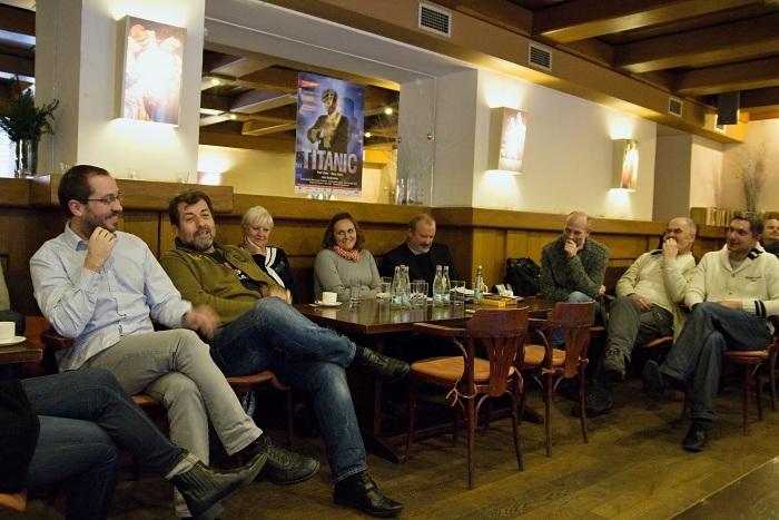 na tiskovém setkání v klubu MdB (foto: Michal Novák)