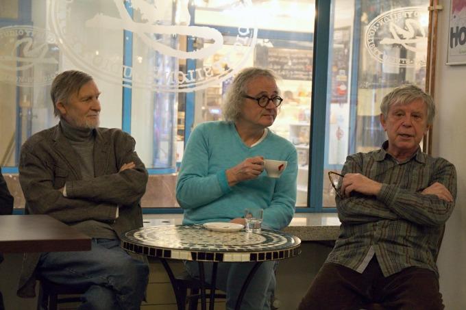 Jan Schmid, Jan Jiráň, Miroslav Kořínek (foto: Michal Novák)