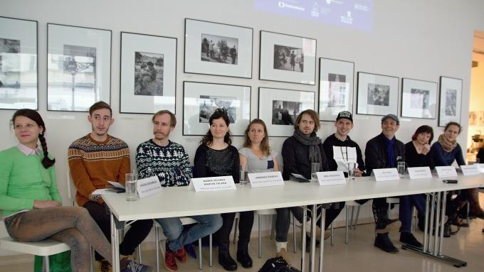 na tiskovém setkání v Českém centru (foto: Michal Novák)