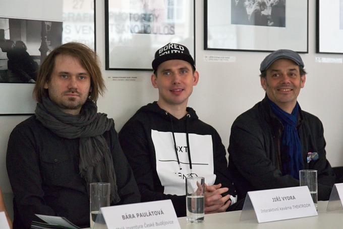 Jiří Vydra, Jakub Čermák, Ewan McLaren (foto: Michal Novák)