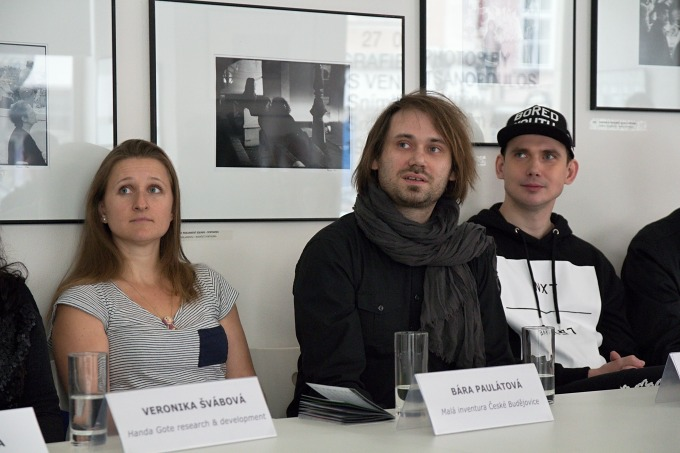 Bára Paulátová, Jiří Vydra, Jakub Čermák (foto: Michal Novák)
