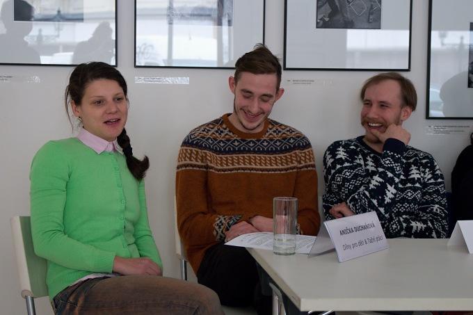 Anna Duchaňová, Martin Talaga, Marek Zelinka (foto: Michal Novák)
