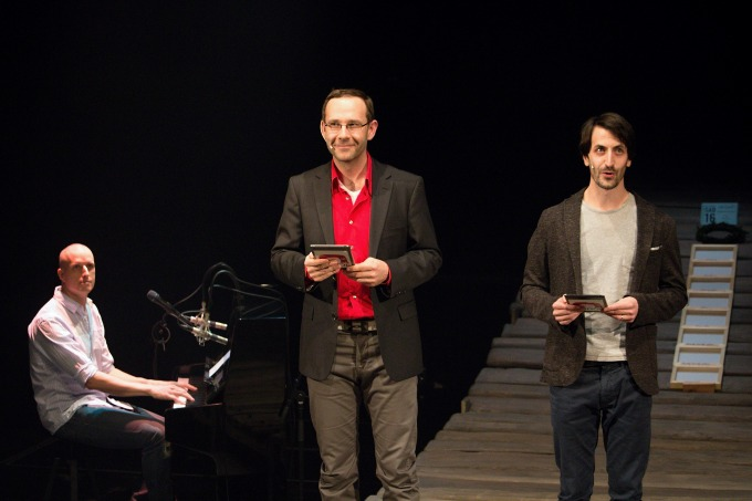 Marek Doubrava, Daniel Šváb, Mikuláš Čížek (foto: Michal Novák)