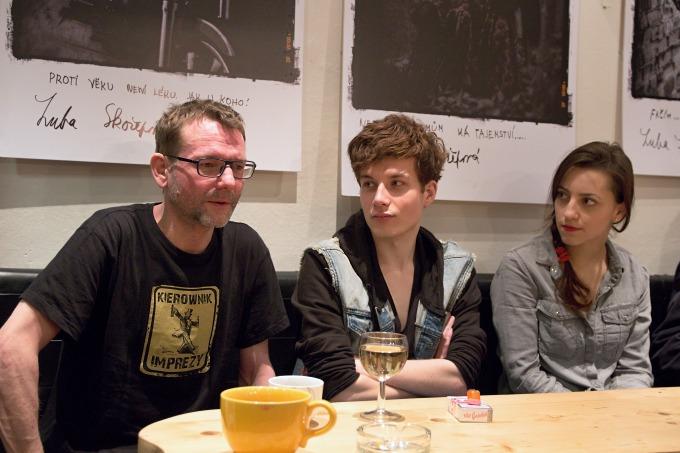 Radim Špaček, Daniel Krejčík, Petra Horváthová (foto: Michal Novák)