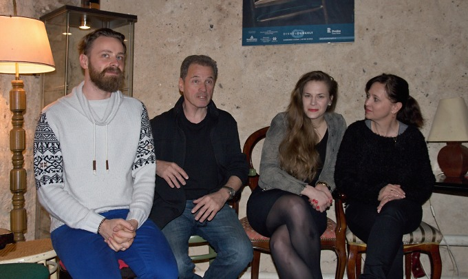 Pavel Ondruch, Milan Hein, Petra Nesvačilová, Alena Mihulová (foto: Michal Novák)