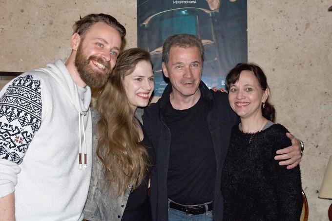 Pavel Ondruch, Petra Nesvačilová, Milan Hein, Alena Mihulová (foto: Michal Novák)