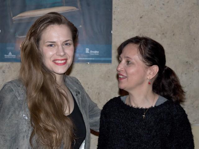 Petra Nesvačilová, Alena Mihulová (foto: Michal Novák)