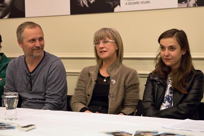 Ivan Krejčí, Daria Ullrichová, Tereza Dočkalová (foto: Michal Novák)