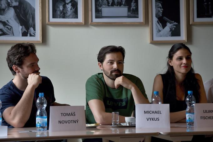 Tomáš Novotný, Michael Vykus, Lilian Sarah Fischerová (foto: Michal Novák)