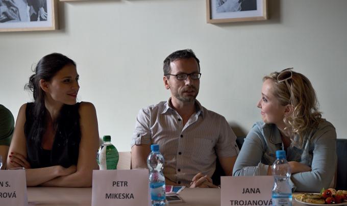 Lilian Sarah Fischerová, Petr Mikeska, Jana Trojanová (foto: Michal Novák)