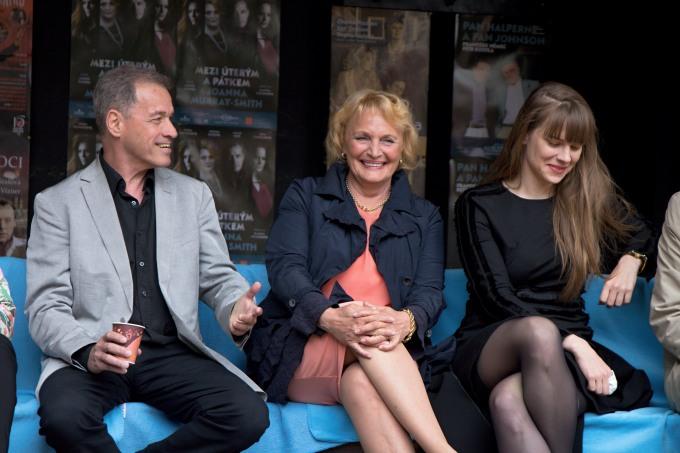 Milan Hein, Regina Rázlová, Petra Nesvačilová (foto: Michal Novák)
