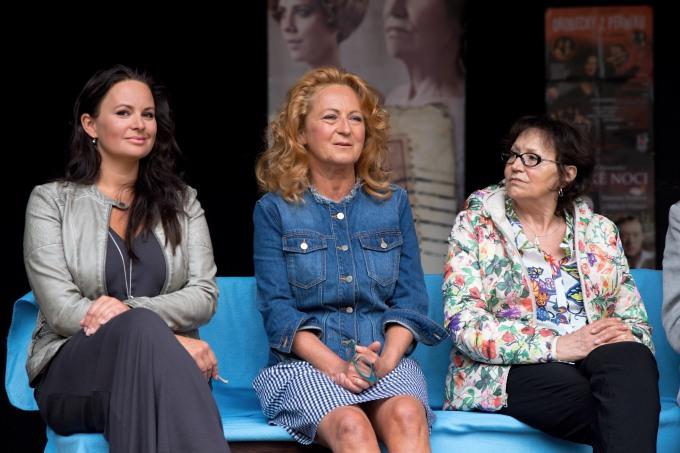 Jitka Čvančarová, Simona Stašová, Marta Kubišová (foto: Michal Novák)