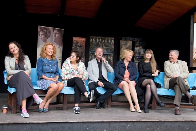 setkání na Letní scéně Divadla Ungelt (foto: Micha Novák)
