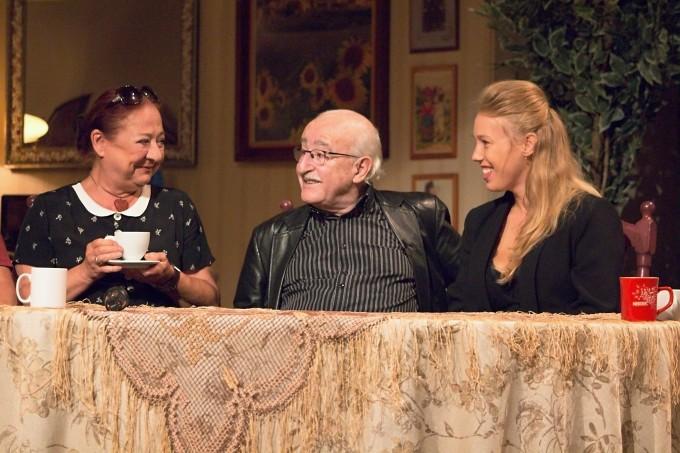 Ludmila Molínová, Juraj Herz, Aneta Krejčíková (foto: Michal Novák)