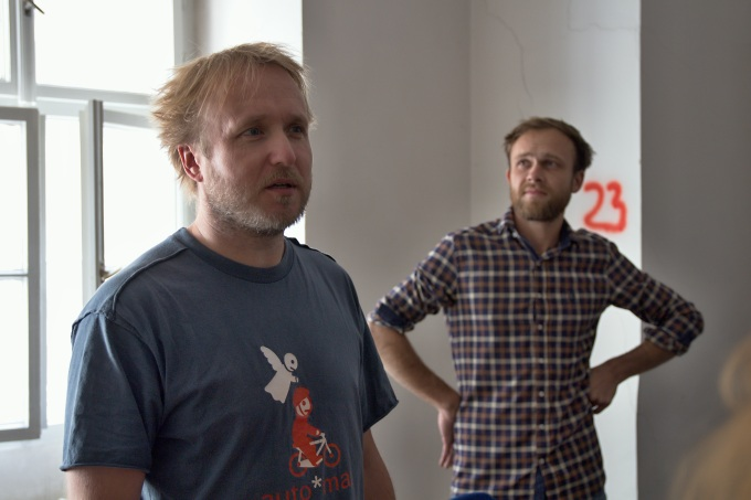 Vojta Švejda a Jan Kalivoda (foto: Michal Novák)