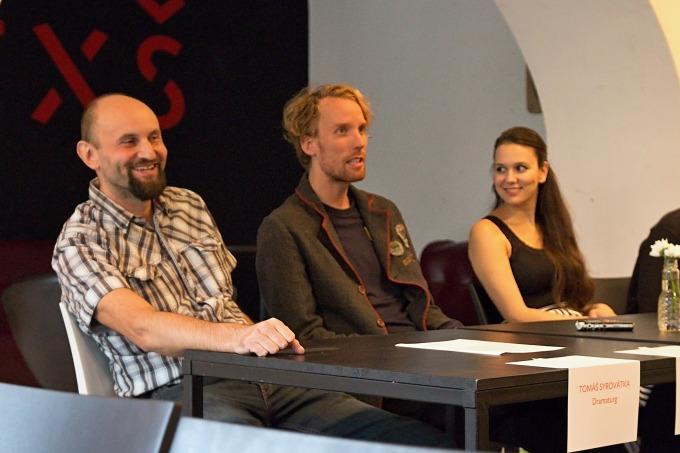 Tomáš Syrovátka, Tomáš Dianiška, Eliška Jansová (foto: Michal Novák)