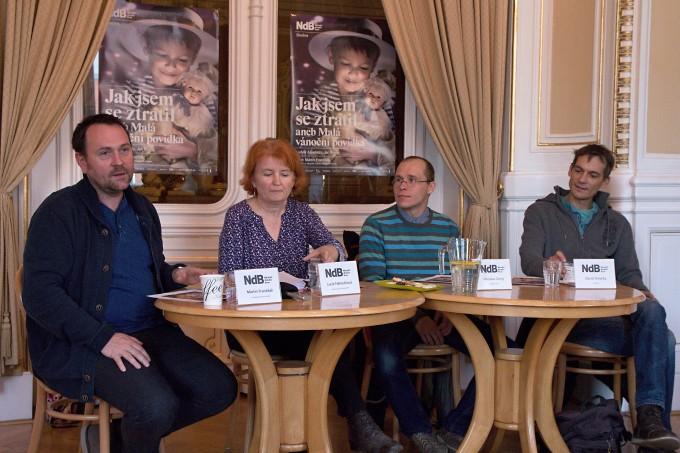 Martin Františák, Lucie Němečková, Miroslav Černý, David Smečka (foto: Michal Novák)