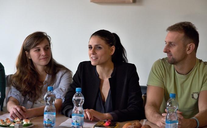 Hana Marvanová, Lilian Sarah Fischerová, Radek Zima (foto: Michal Novák)